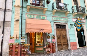 The ancient Rapone family's Confetti shop