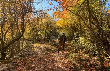Walking in Abruzzo in Autumn