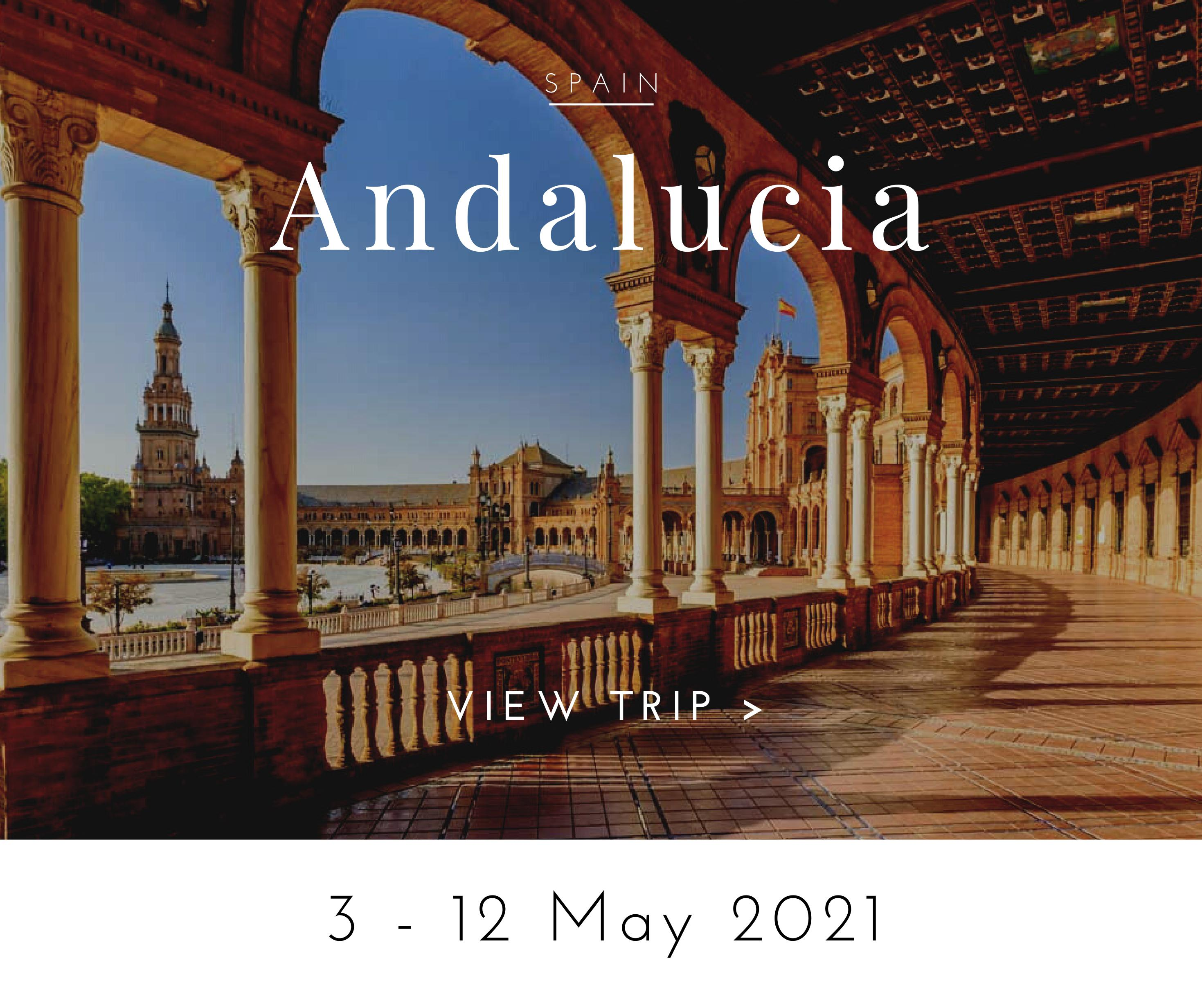 walking tour andalucia may 2021