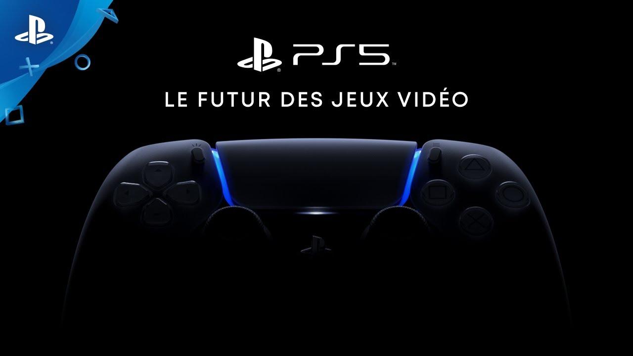 PS5 : Sony date officiellement une première présentation
