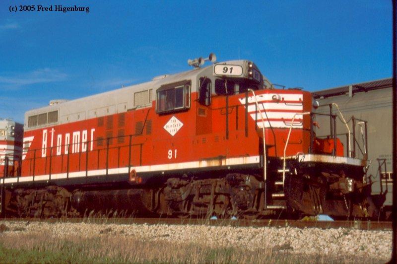 Chicago Area Shortline Railroads  Bloomer