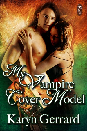 My Vampire Cover Model by Karyn Gerrard Decadent Publishing