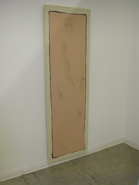 """Wounded Canvas (Body)"" Acrylic on Canvas, 2009"