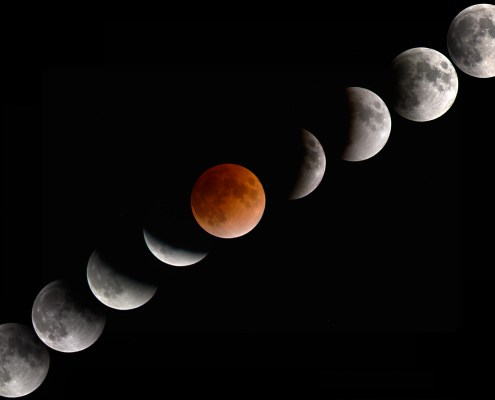 Lunar Eclipse: the Conflict between Me & Not Me