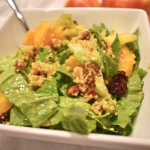 Harvest Salad with Lemon Ginger Dressing