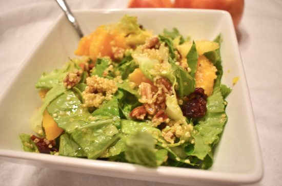 Harvest Salad with Lemon Ginger Dressing
