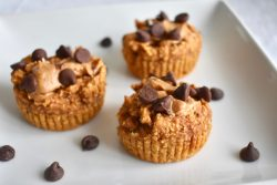Sweet Potato Muffins with Chocolate Chips and Peanut Butter