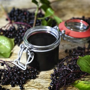 elderberry and syrup immunity boosting