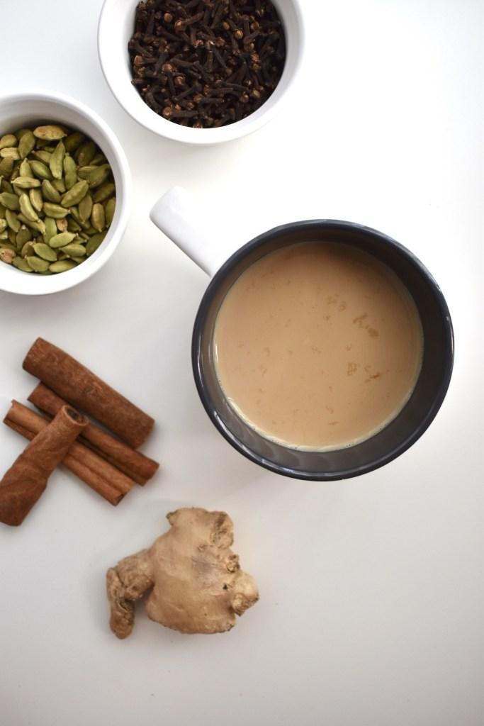 authentic indian masala chai tea