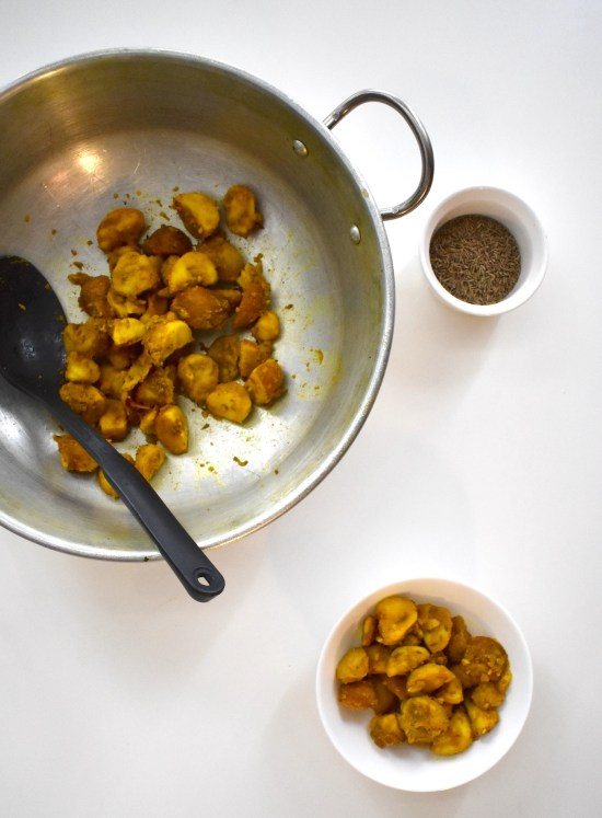 Dry Aloo Jeera potato curry Indian Cumin Potatoes