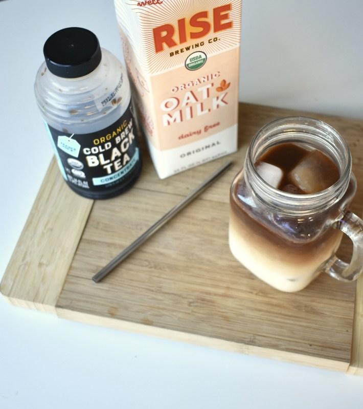 starbucks oatmilk honey latte with black tea