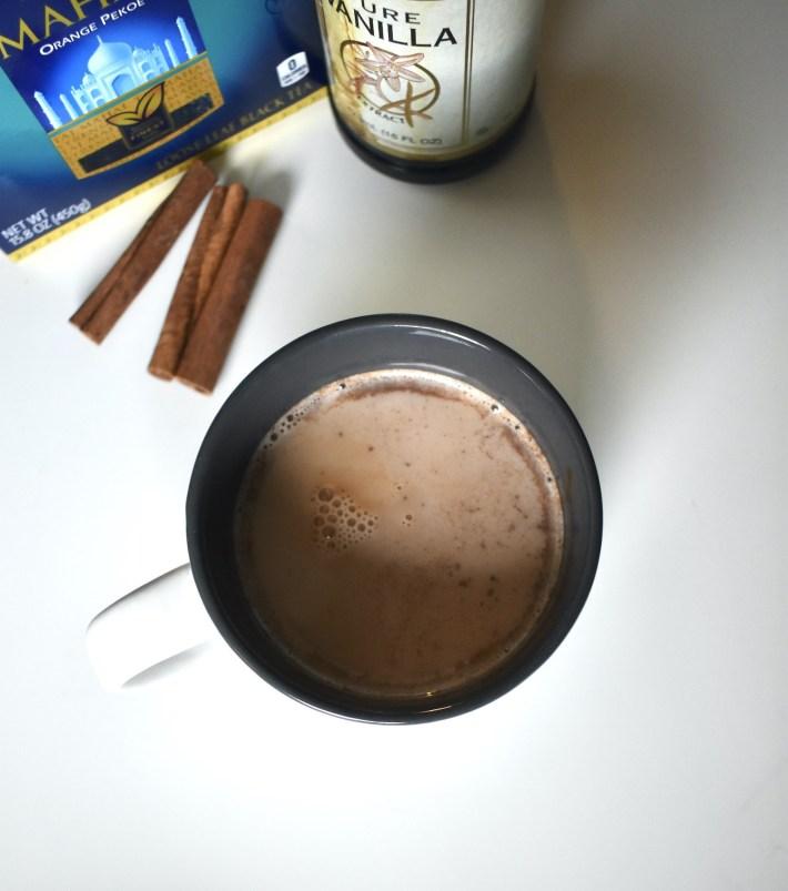 tea cinnamon dolce latte