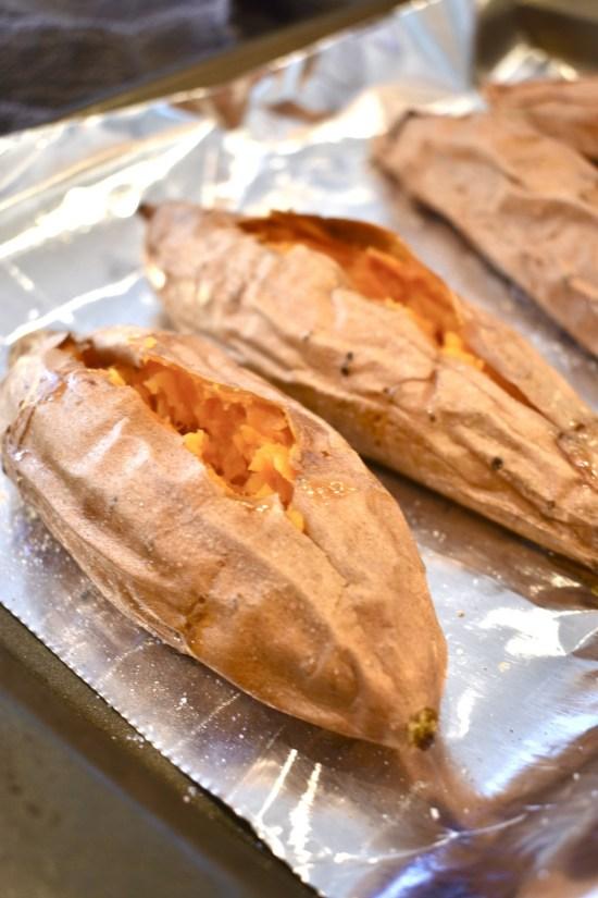 baked sweet potato easy recipe