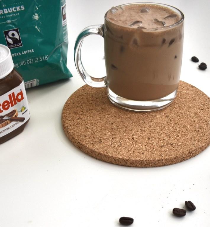 chocolate hazelnut cold brew