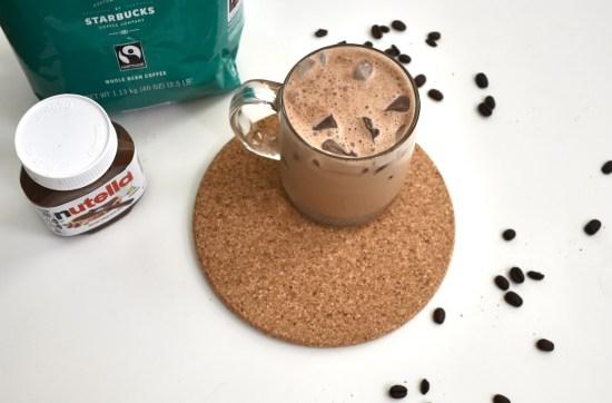 nutella cold brew coffee