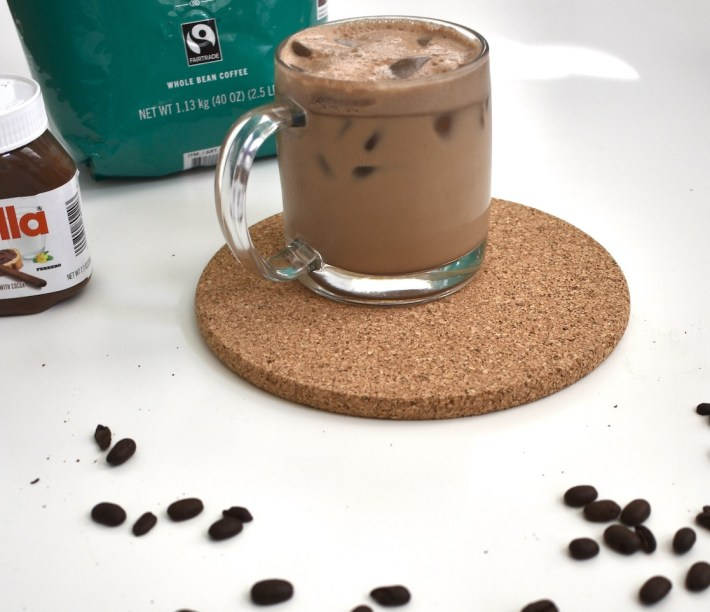 nutella cold brew blended coffee
