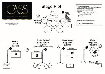 EPK Cass Clayton Band, Press Kit