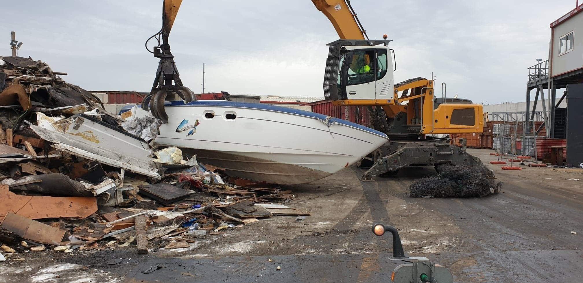 Enlèvement et destruction de navires