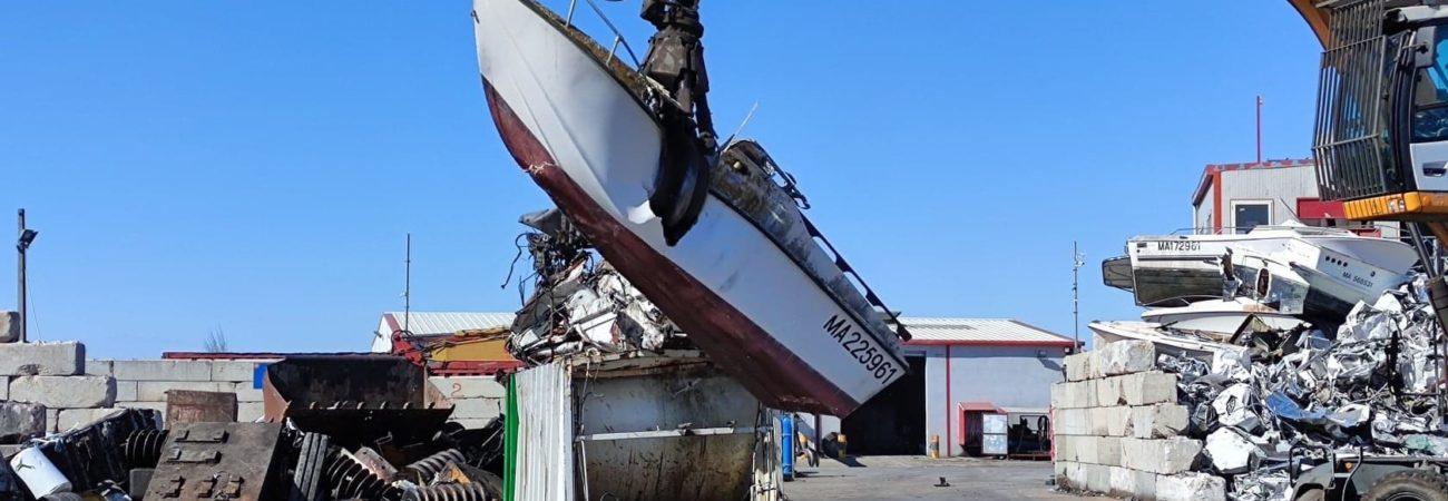 Enlèvement épave bateau