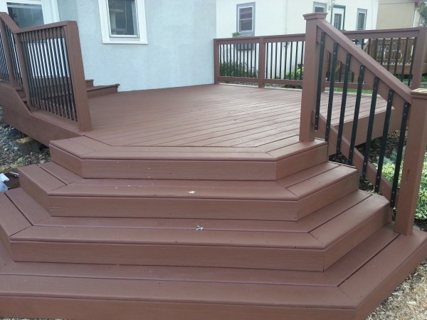 Applying Behr Deck Over Wood Small Change In