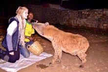 Me Feeding the Hyena