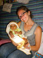 Nikki and My Friend Habtish's Baby Girl
