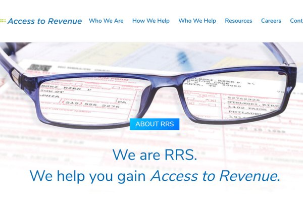 RRS website redesign