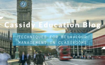 Techniques For Behaviour Management In Classrooms