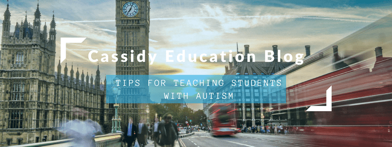 Tips For Teaching Students With Autism
