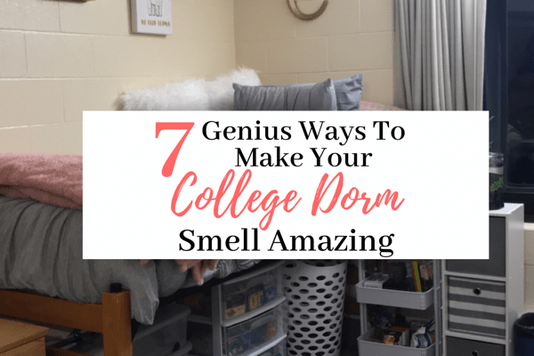 7 Genius Ways To Make Your Dorm Room Smell Amazing | How To Make Your Dorm Room Smell Good