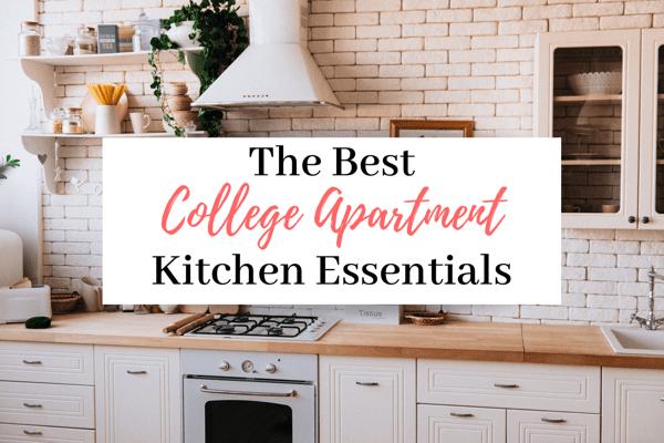 21 College Apartment Kitchen Essentials   The Best College Apartment Kitchen Necessities