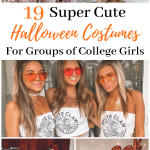 The perfect college halloween costumes for groups. These costumes are so cute!