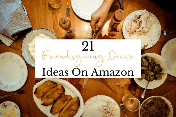Friendsgiving Decor on Amazon | Best Affordable Friendsgiving Decor