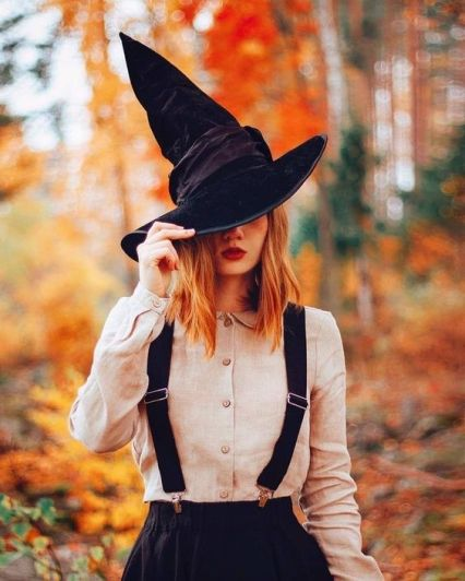 vintage witch costume halloween