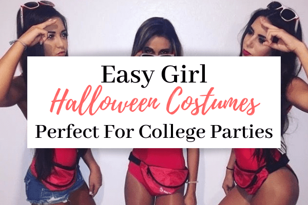 easy girl halloween costumes for college parties