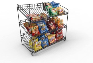 chip display for high school graduation party food ideas