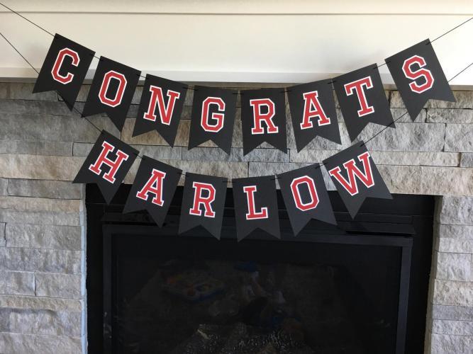 graduation party decoration banner