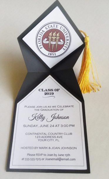 high school graduation party invitation ideas