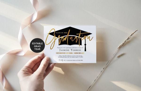 grad party invitation ideas