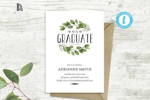 graduation party invitation ideas