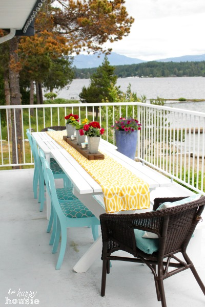 The Happy Housie Home Tour for Primitive and Proper Deck 3