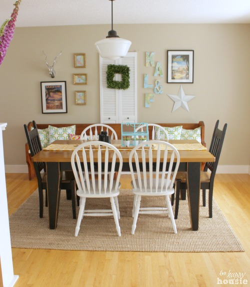 The Happy Housie Home Tour for Primitive and Proper Dining Room