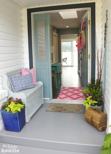 The Happy Housie Home Tour for Primitive and Proper Entry Porch
