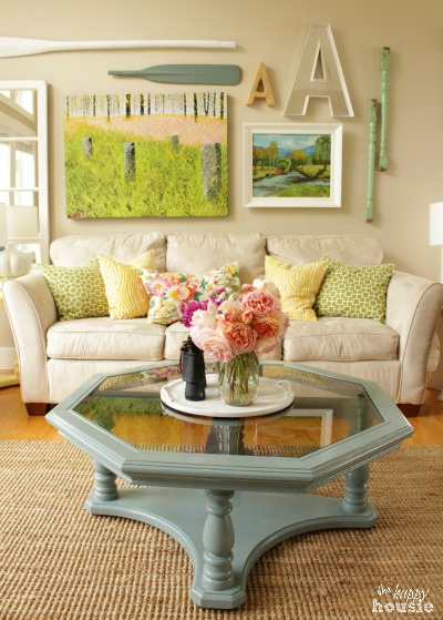 The Happy Housie Home Tour for Primitive and Proper Living Room