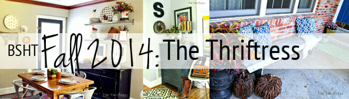 blogger stylin home tour fall