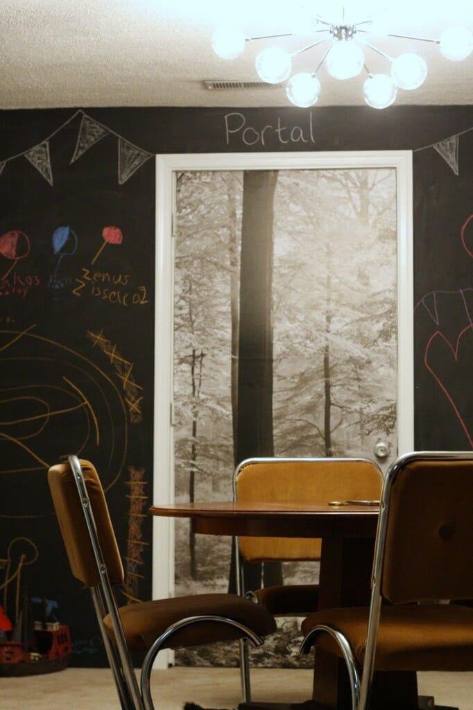 lamps plus sputnik in playroom