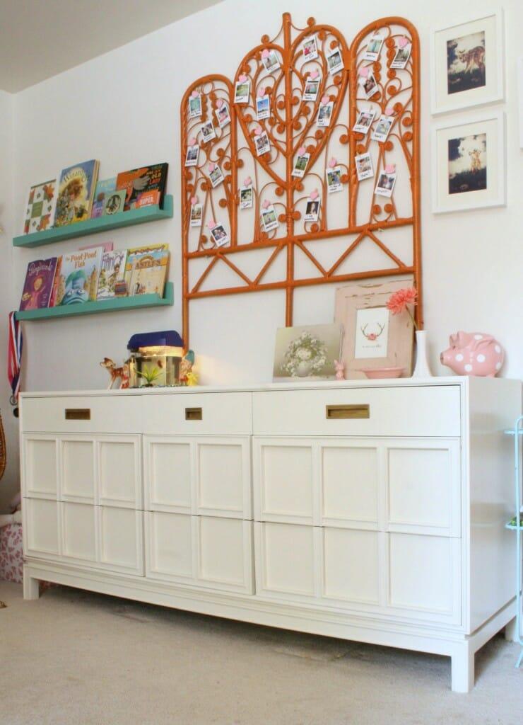 Midcentury Modern Painted Dresser