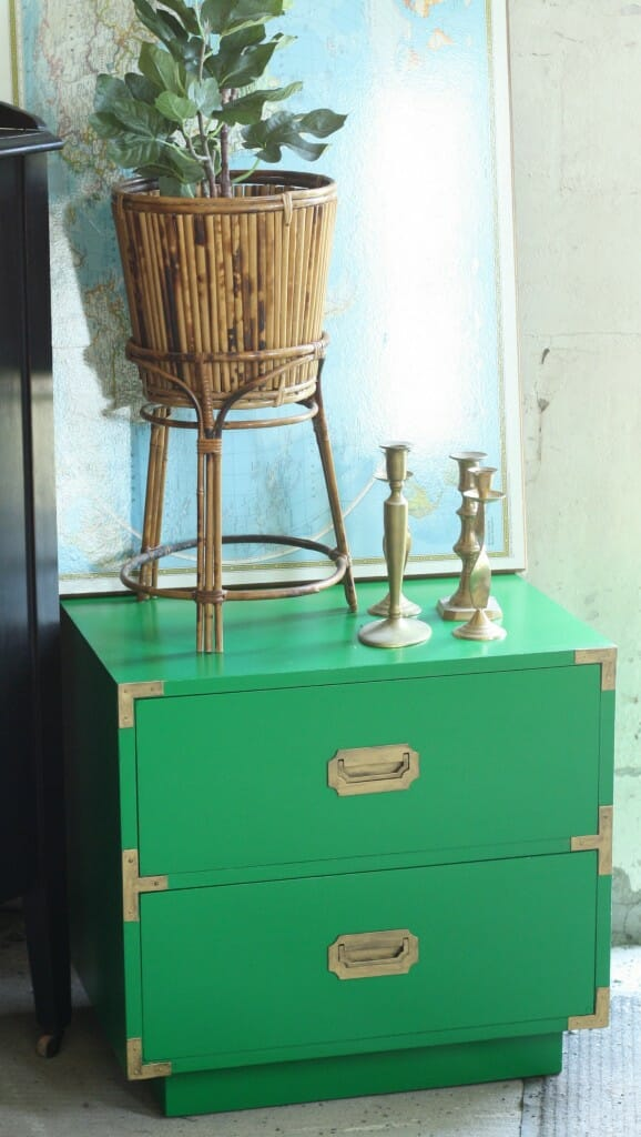 emerald campaign nightstand