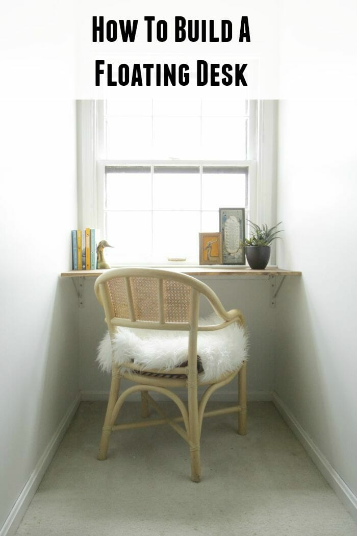 Do It Yourself Home Design: DIY Wall Mounted Desk