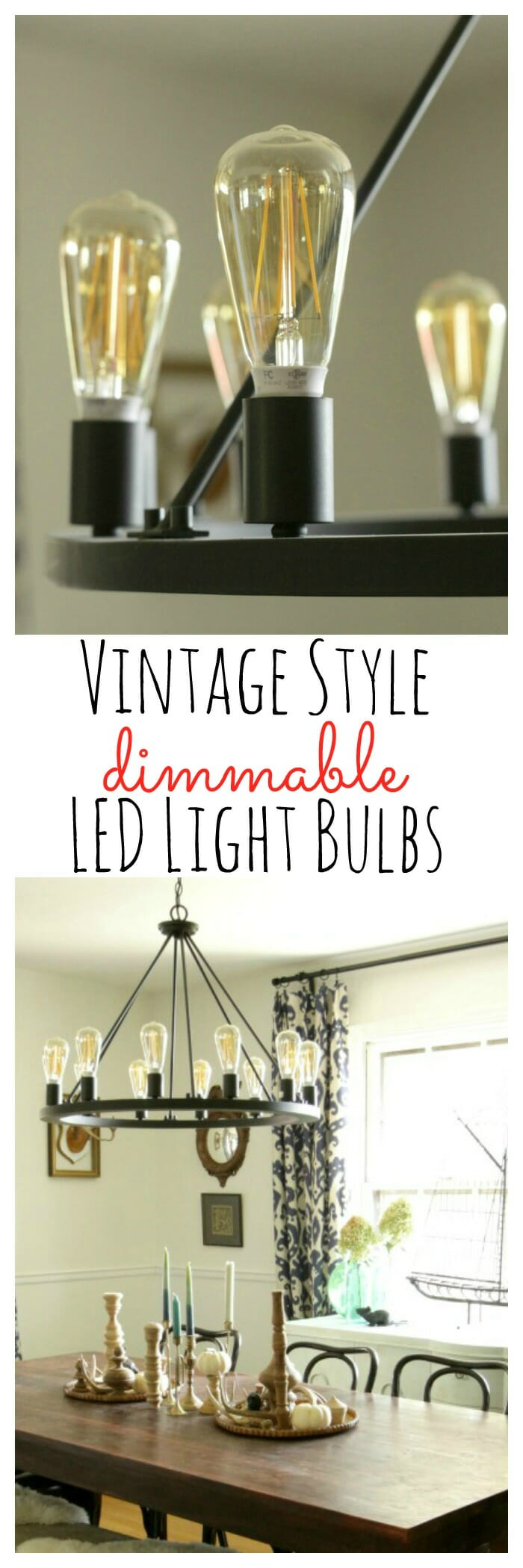 Led Vintage Style Dimmable Light Bulbs